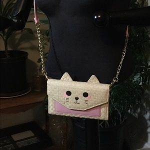 Betsey Johnson  Crossbody Kitty Clutch